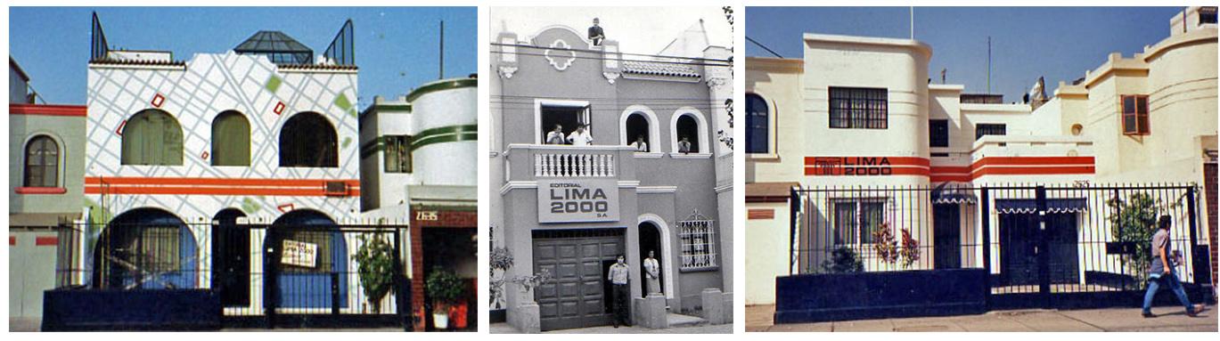 Fachada de Lima 2000