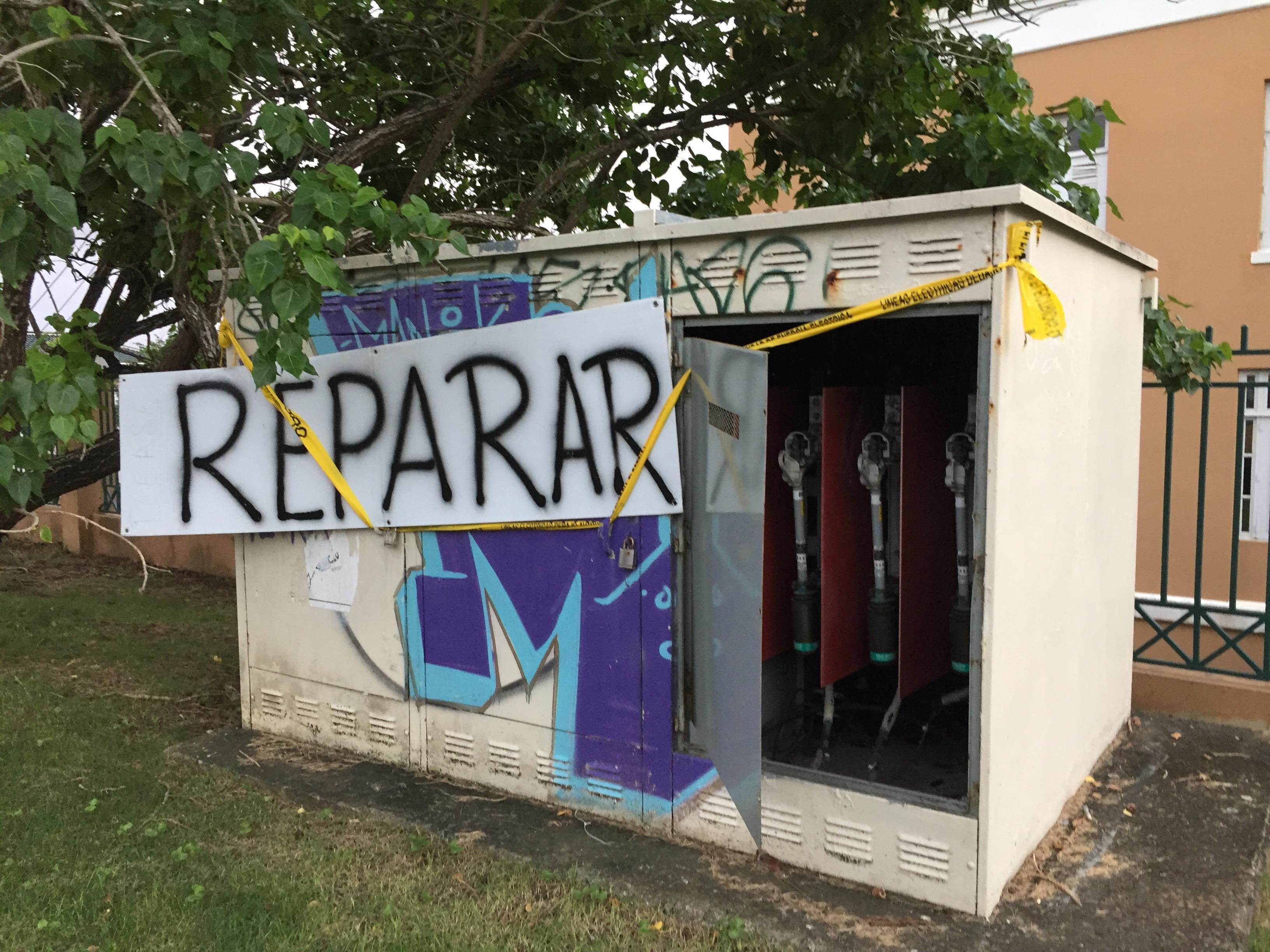 Reparar PR