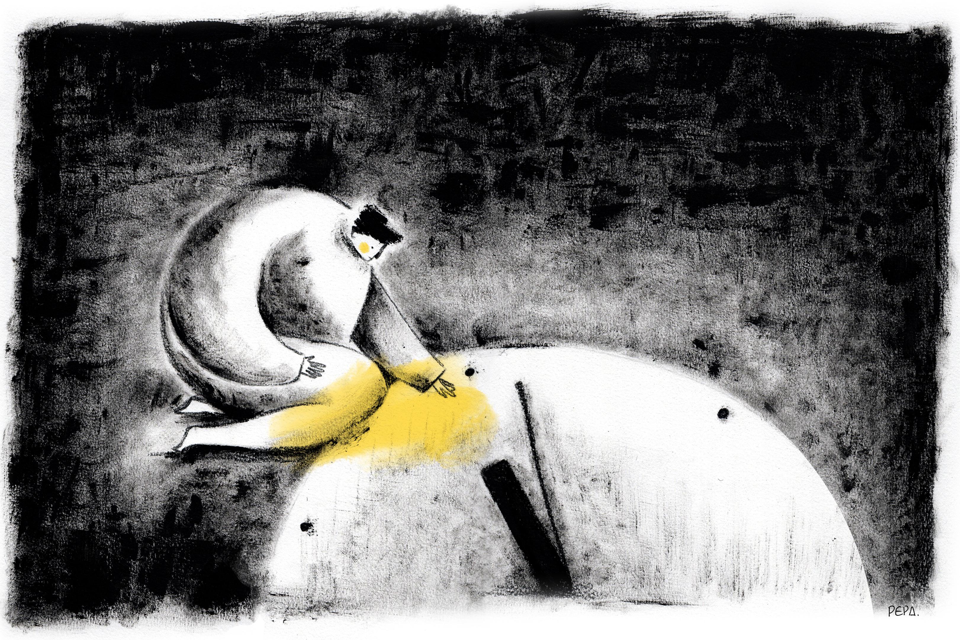 Ilustración de El reloj y la linterna, episodio 03 de la temporada 11 de Radio Ambulante